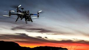 3D Robotics latest drone, the X8+