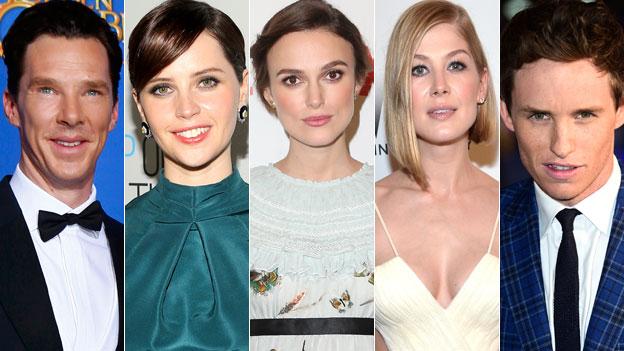 Benedict Cumberbatch, Felicity Jones, Keira Knightley, Rosamund Pike, Eddie Redmayne