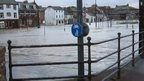 River Nith floods Dumfries