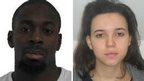 Amedy Coulibaly and a woman called Hayat Boumeddiene