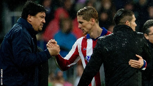 Simeone destaca las ventajas de la vuelta de Torres al Atlético de Madrid