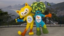 Rio Olympics and Paralympics mascots, 24 Nov 14