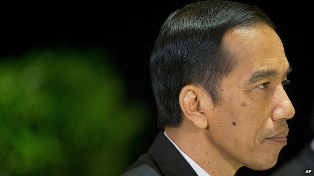 President Joko Widodo, 10 Nov 2014