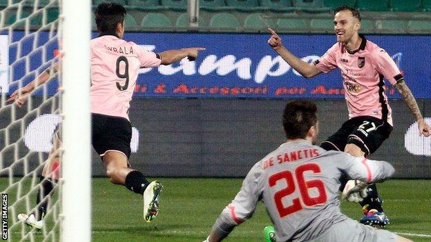 Palermo 0-1 juventus