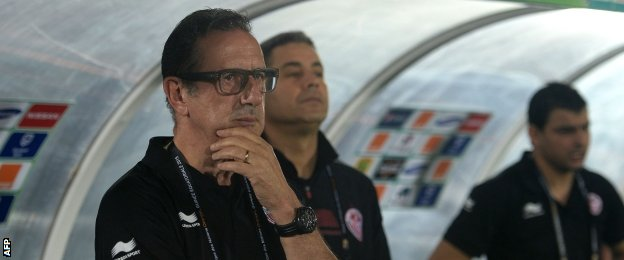 Tunisias coach Georges Leekens is the second Belgian boss in the tournament