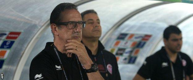 Tunisia coach Georges Leekens