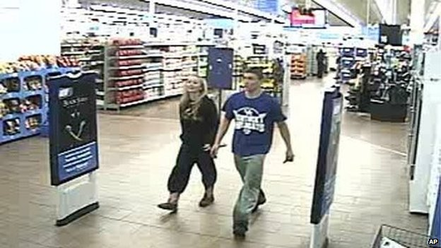 Two teenagers who have been on the run for two weeks in a supermarket in South Carolina
