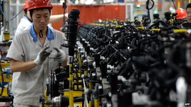 Last year, China's economy expanded at its slowest pace since 1990