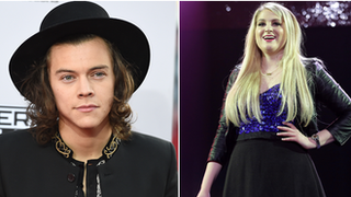 BBC - Newsbeat - Meghan Trainor: Writing with Harry Styles was unbelievable