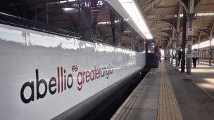 Abellio Greater Anglia train
