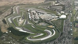 Artist impression of Circuit of Wales