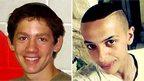 Naftali Fraenkel and Mohammed Abu Khdeir