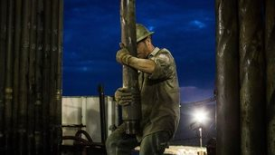 Shale rig operator
