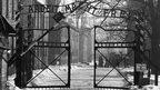 Entrance to Auschwitz