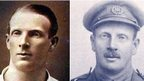 Edgar Mobbs as a rugby player and as a soldier