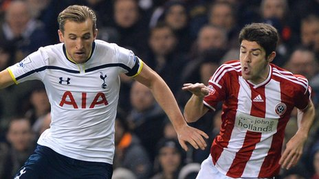 Tottenham 1-0 Sheffield United