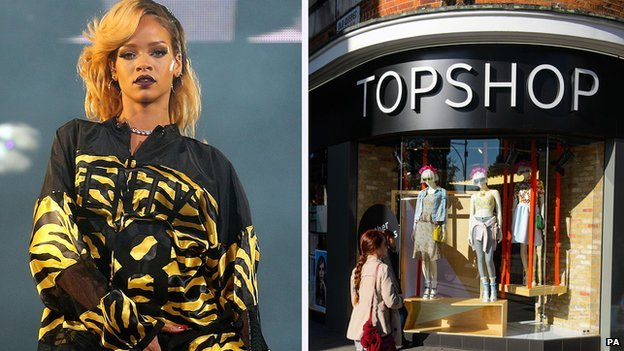 Rihanna/Topshop