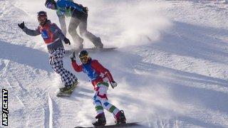 Snowboarding - boardercross