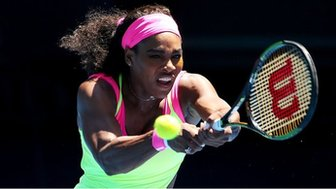 Serena Williams at the 2015 Australian Open