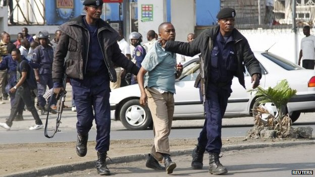 DR Congo senate delays vote amid anti-Kabila protests