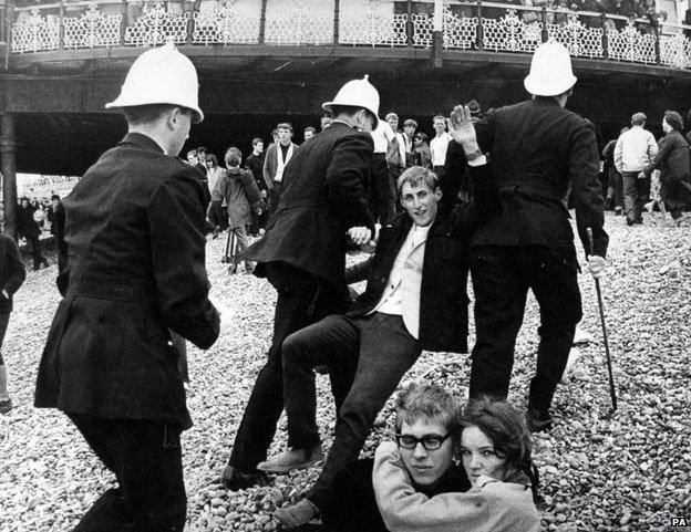 Brighton beach, 1964