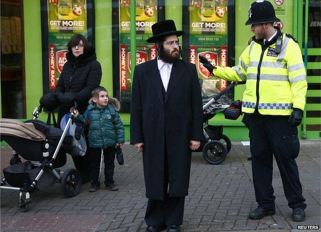 Police/London Jews, 20 Jan 15