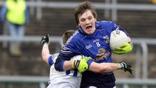 Gearoid McKiernan impressed for Cavan before being red carded in the closing stages