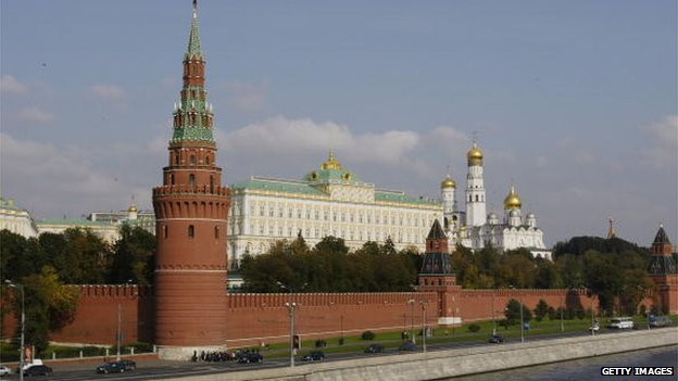 The Great Kremlin Palace is seen in Moscow September 26, 2003