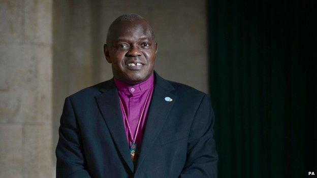 Dr Sentamu said archbishops had always had the power to delegate parts