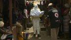 Ebola workers in Sierra Leone