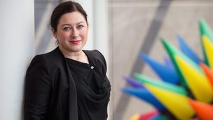 Gill Hicks in Adelaide, January 2015