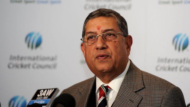 Indian media: 'Dead end' for cricket chief Srinivasan