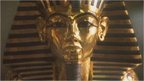 File image of King Tutankhamen's death mask