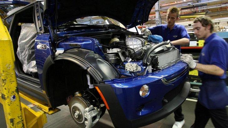 Mini car plant in Cowley