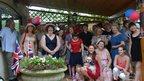 Garden party. Photo: Carmen Alder