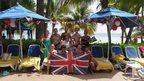 Celebrating in Montego Bay