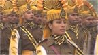 Preparations for the Republic Day parade
