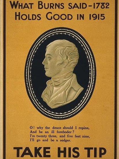 Burns poster