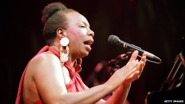 Nina Simone in 1991