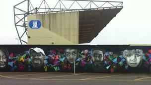 Sincil Bank mural