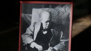 Last picture of Churchill