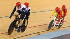 Tandem racing at the 2012 Paralympics