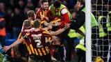 Andrew Halliday celebrates
