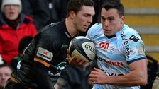 Argentina winger Juan Ihmoff scored twice for Racing Metro