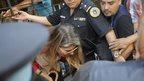 Mr Nisman's former wife, Sandra Arroyo Salgado