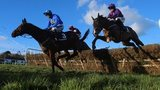 Hurricane Fly leads at Leopardstown