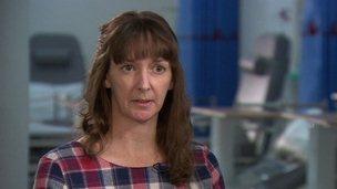 Nurse Pauline Cafferkey