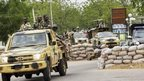 Nigerian troops in Maiduguri, file pic