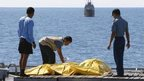 Salvage operation in Java Sea, 21 Jan