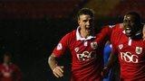 Bristol City striker Jay Emanuel Thomas